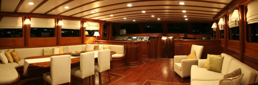 Sumptuously Appointed Luxury Yacht Greece
