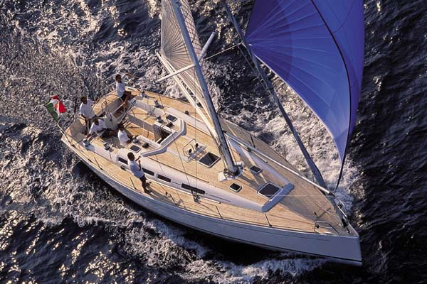 Grand Soleil Bareboat Rentals Greece. Designed by German Frers