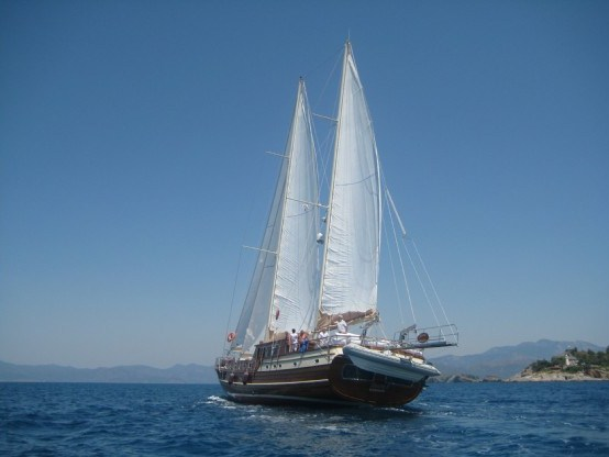 Cruising Turkish Aegean